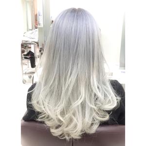 髪を白くしたい場合のやり方と注意点!!