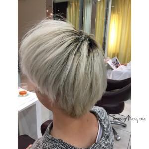 ホワイトヘア 根本 リタッチ