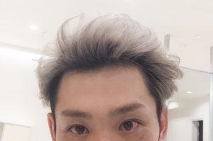 ホワイトヘア メンズ