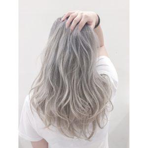 ホワイトヘア ホワイトアッシュ スーパーハイトーン ピュアホワイト