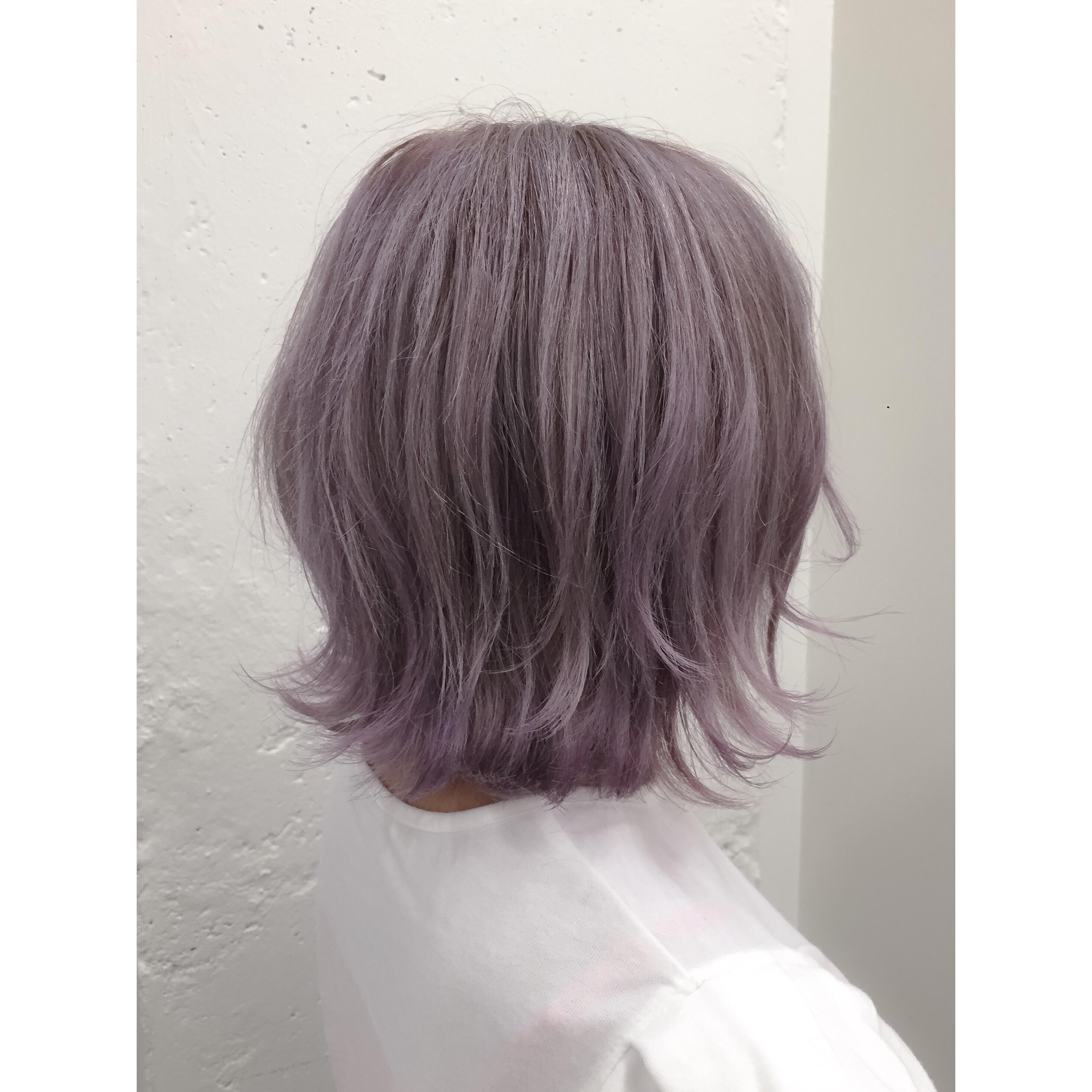ホワイティピンクヘア