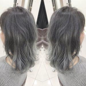 ホワイトアッシュ ホワイトヘア