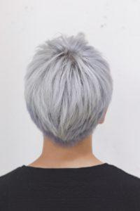 ホワイトヘア ホワイトカラー