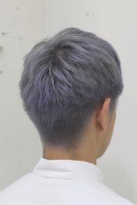 ホワイトアッシュヘア ホワイトカラー
