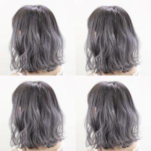 ホワイトアッシュヘア